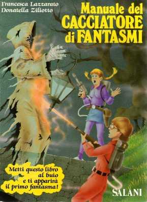 Manuale del Cacciatore di Fantasmi-copertina