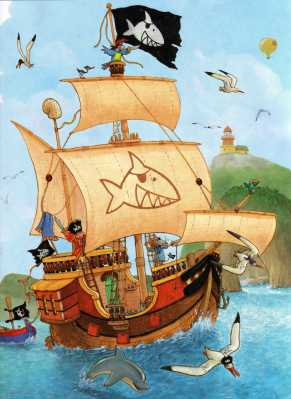 Capitan Sharky e l'isola dei prigionieri - interno