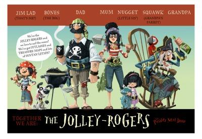 La famiglia Jolley-Rogers