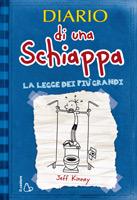 Diario di una Schiappa, La legge dei più grandi, di Jeff Kinney, Il castoro 2009, 12 euro