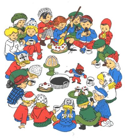 Il Natale di Pippi_illustrazione
