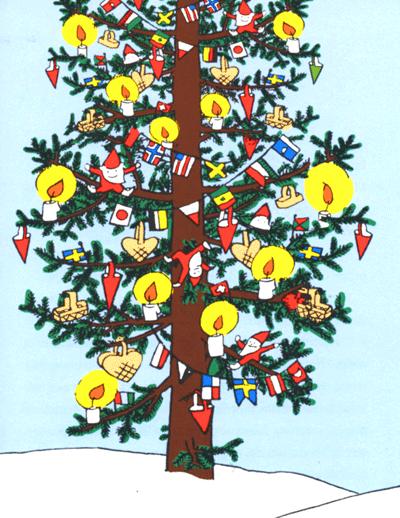 Il Natale di Pippi_l'albero di Natale