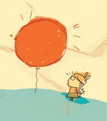 Il palloncino_illustrazione