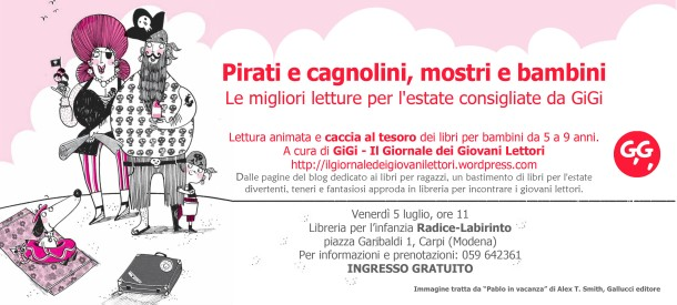 Pirati e cagnolini, mostri e bambini_Libreria Radice-Labirinto