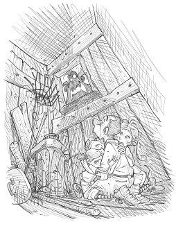 Mostri & Mostri_Caccia allo Zombie_illustrazione