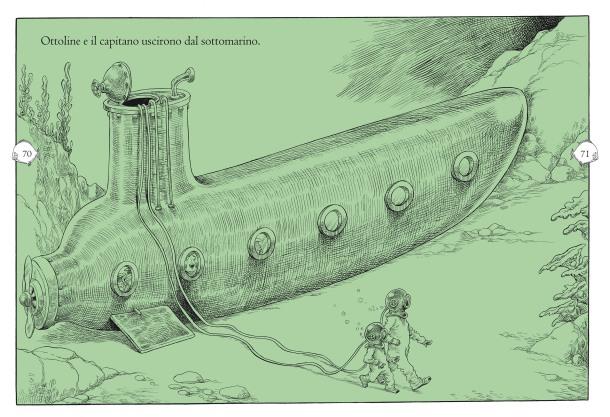 Ottoline al mare_illustrazione