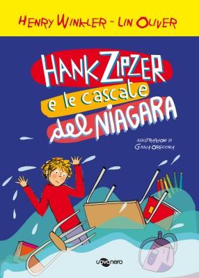 Hank Zipzer e le cascate del Niagara_copertina