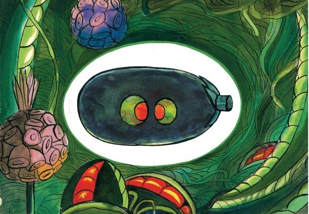 Illustrazione di Adelchi Galloni per la serie animata