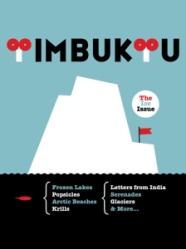 Copertina del primo numero di Timbuktu, illustrazione di Olimpia Zagnoli.