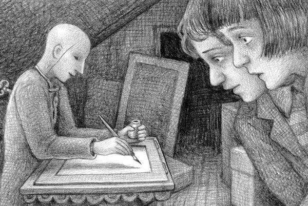 La straordinaria invenzione di Hugo Cabret_illustrazione