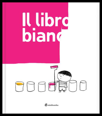 Il libro bianco, di Silvia Borando, Lorenzo Clerici, Elisabetta Pica, Minibombo 2013, 12,90 euro.