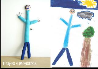 Trapos e Monstros