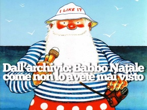 Babbo Natale va invacanza!