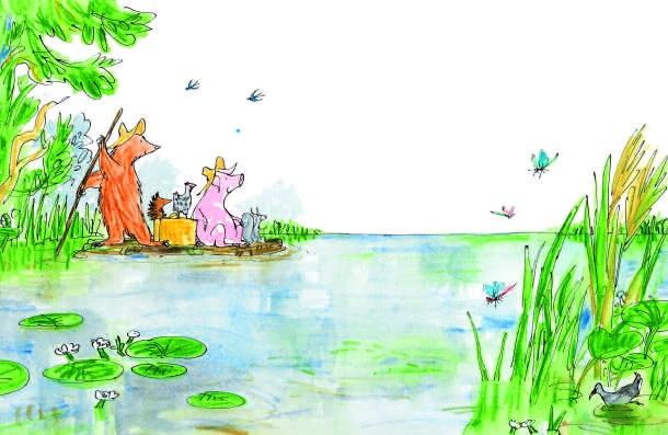 Il picnic acquatico dell'Orso_interno 1