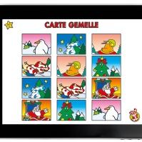 Pimpa Storia di Natale_Carte gemelle