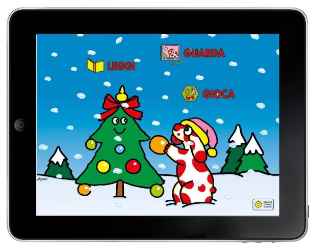 Pimpa Storia di Natale_menu