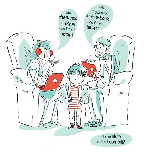 Illustrazione di Elisa Rocchi per GiGi Il Giornale dei Giovani Lettori