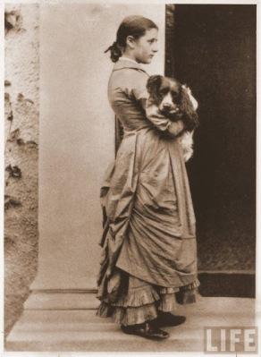 Ritratto di Beatrix Potter da ragazza