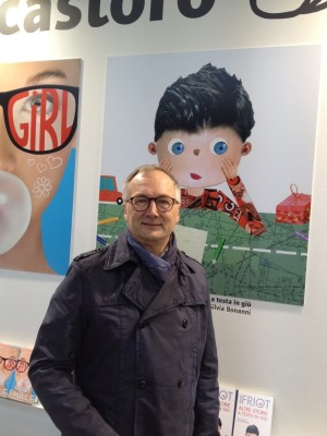 Bernard Friot alla Fiera del Libro per Ragazzi di Bologna