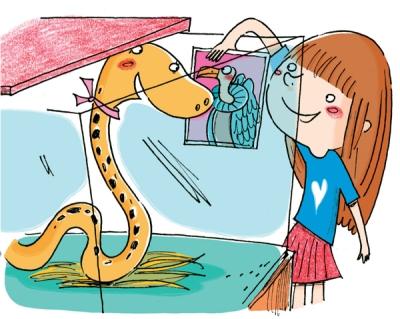 Un serpente per ospite_interno