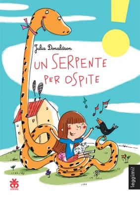 Un serpente per ospite, di Julia Donaldson, illustrazioni di Francesca Carabelli, traduzione di Laura Russo, Sinnos 2014, 8,50 euro.