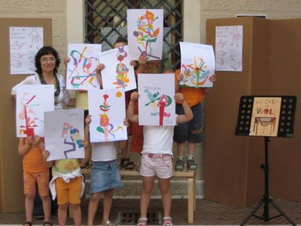 Silvia Bonanni_Laboratorio con bambini