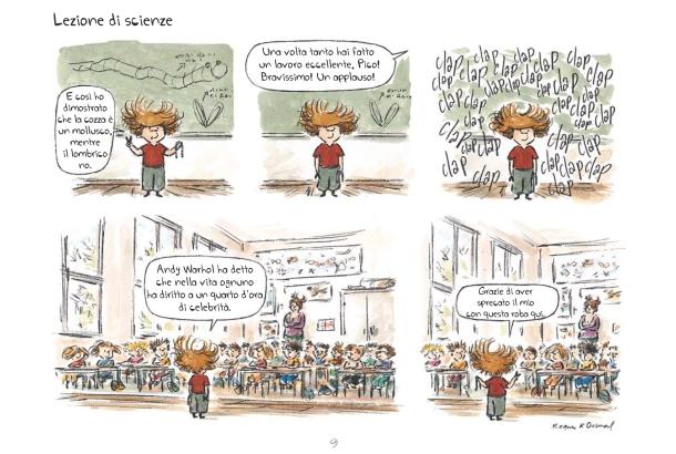 Pico Bogue_Lezione di scienze