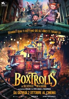Boxtrolls - Le scatole magiche, di Anthony Stacchi, Graham Annable, animazione, 100', USA 2014.