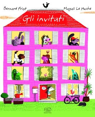 Gli invitati, di Bernard Friot, illustrazioni di Magali Le Huche, traduzione di Tommaso Gurrieri, Clichy 2014, 15€