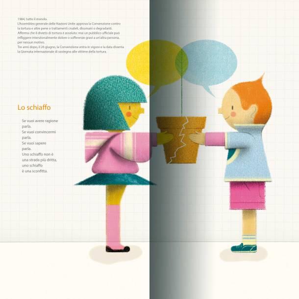 Il cammino dei diritti_illustrazione