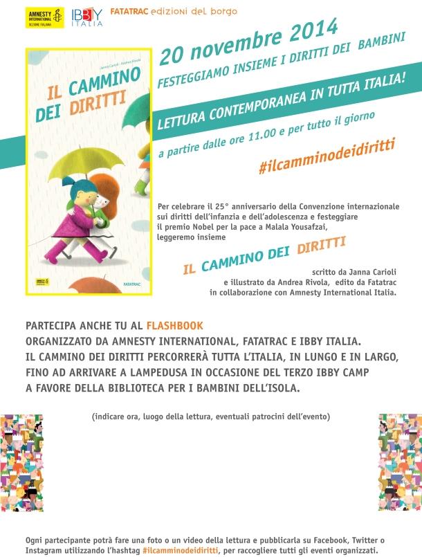 Volantino_Il cammino dei diritti_FLASHBOOK 20-11-2014