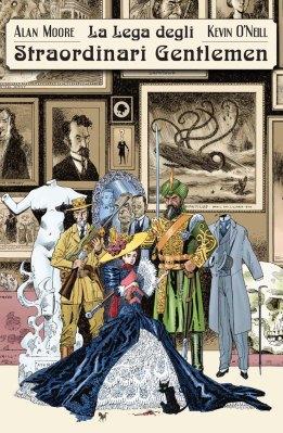 La Lega degli Straordinari Gentlemen vol. 1, di Alan Moore, illustrazioni di Kevin O' Neill, Bao Publishing 2013.