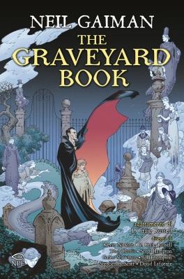 The Graveyard Book, dal romanzo di Neil Gaiman, adattamento di P. Craig Russell, traduzione di Nicola Pesce e Andrea Plazzi, Nicola Pesce Editore, 29€