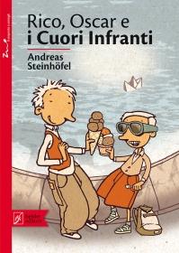 Rico, Oscar e i Cuori Infranti, di Andreas Steinhöfel, illustrazioni di Peter Schössow, traduzione di Alessandra Petrelli, Beisler 2013, 13€.