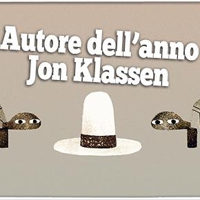 """I libri di Jon Klassen: """"Toh! Un cappello!"""", """"Filo magico"""", """"Il buio"""", """"Ilnido"""""""