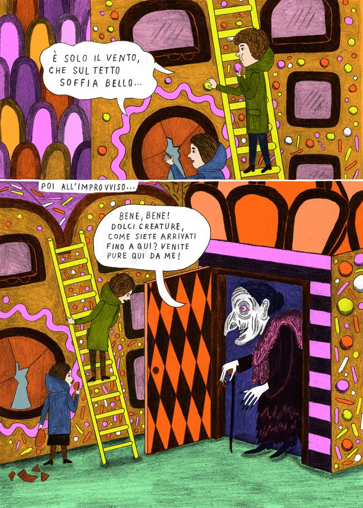 Hansel e gretel di sophia martineck e la mela mascherata di martoz
